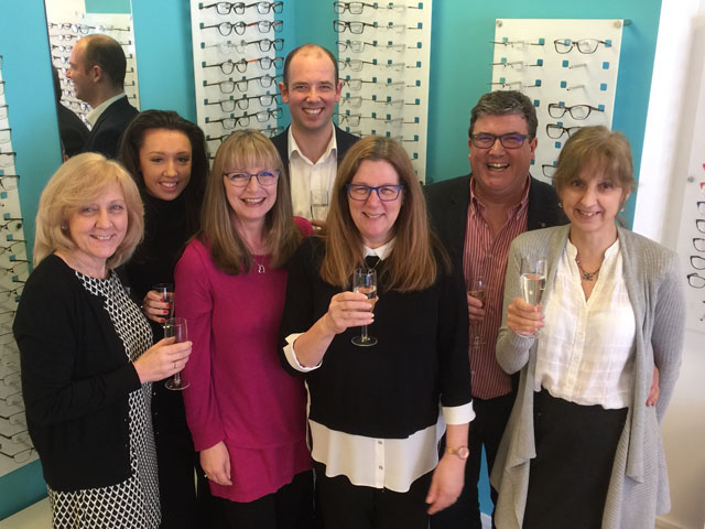 Anne Gill Eyecare Portsmouth celebrates fourth anniversary