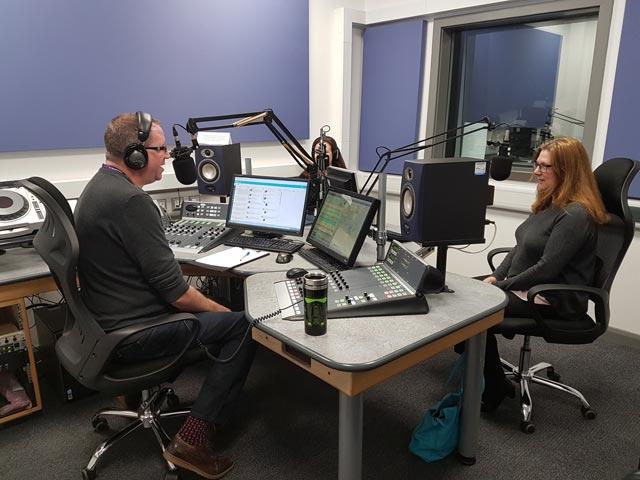 Anne Gill on ExpressFM